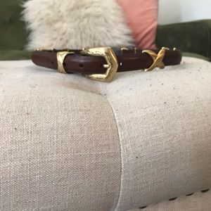 Vintage Brighton collectibles belt (S)